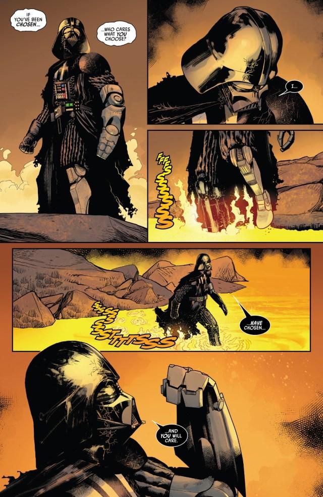 Darth Vader Receives A Sith Wayfinder