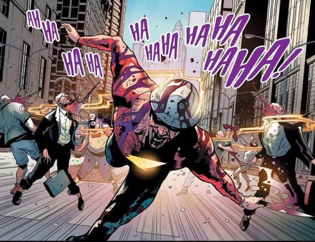 The Joker Kills The Flash Jay Garrick (Injustice Gods Among Us)