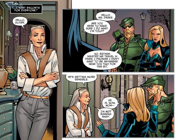 The Joker Mind Controls Dinah Drake (Injustice Gods Among Us)