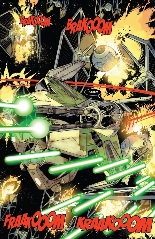 Darth Vader Destroys 11 TIE Fighters