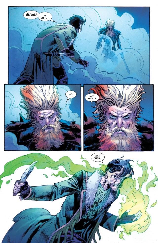 Donald Blake Defeats Loki