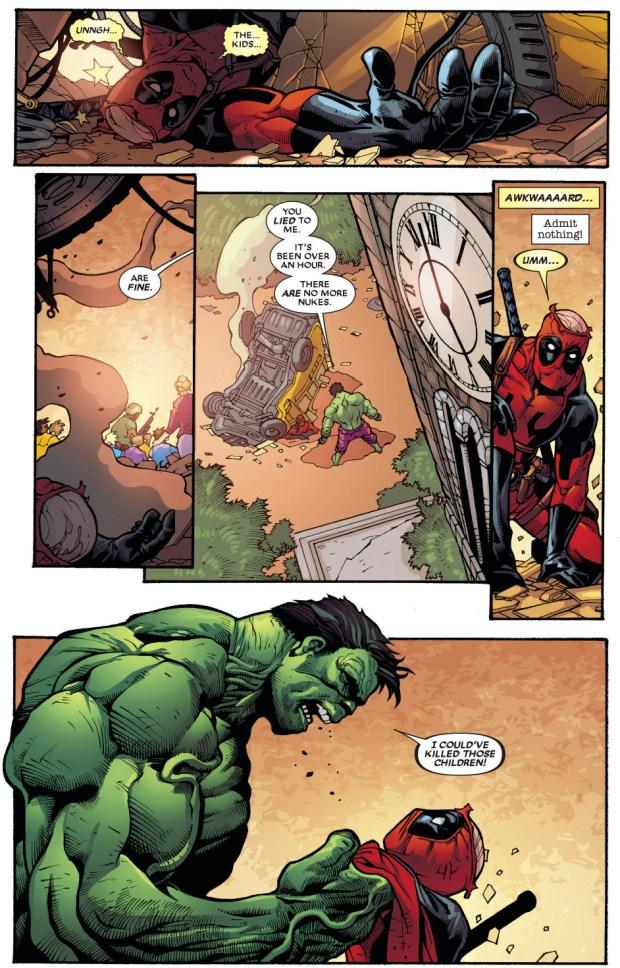 The Hulk Smashes Deadpool Comicnewbies