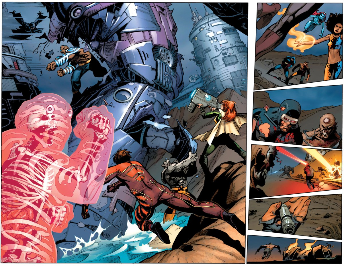 The X Men VS Hellfire Club Sentinel Comicnewbies