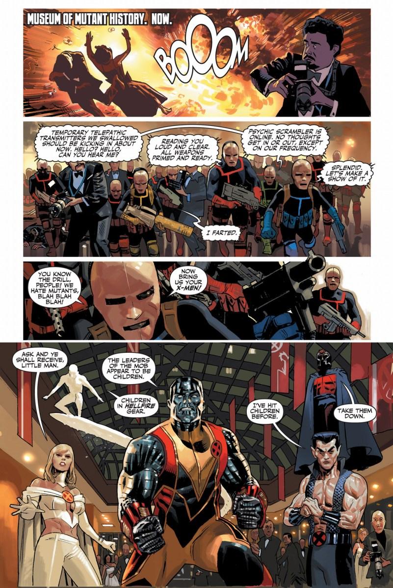 The X Men VS The Hellfire Club Schism Comicnewbies