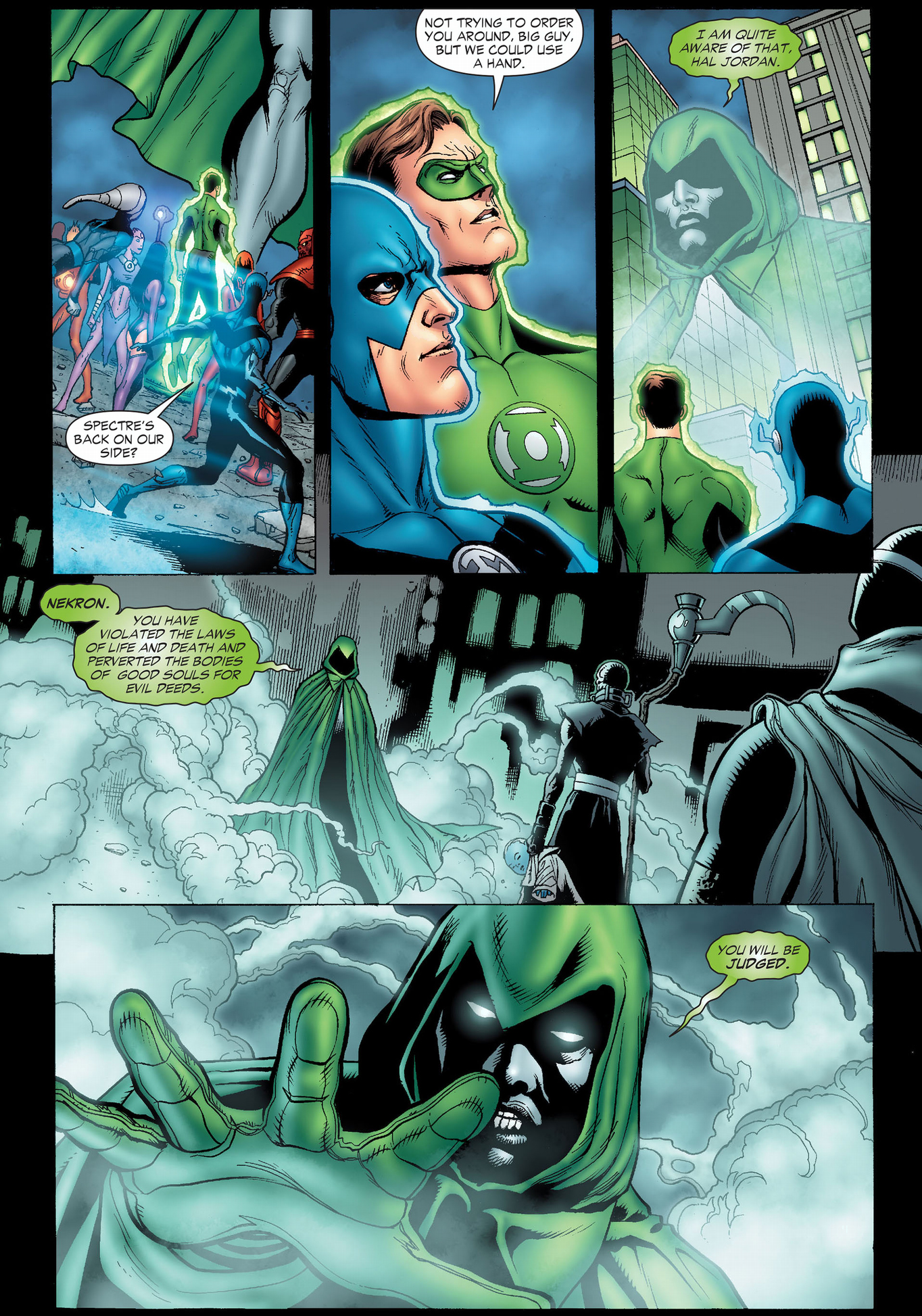 The Spectre Judges Nekron Comicnewbies