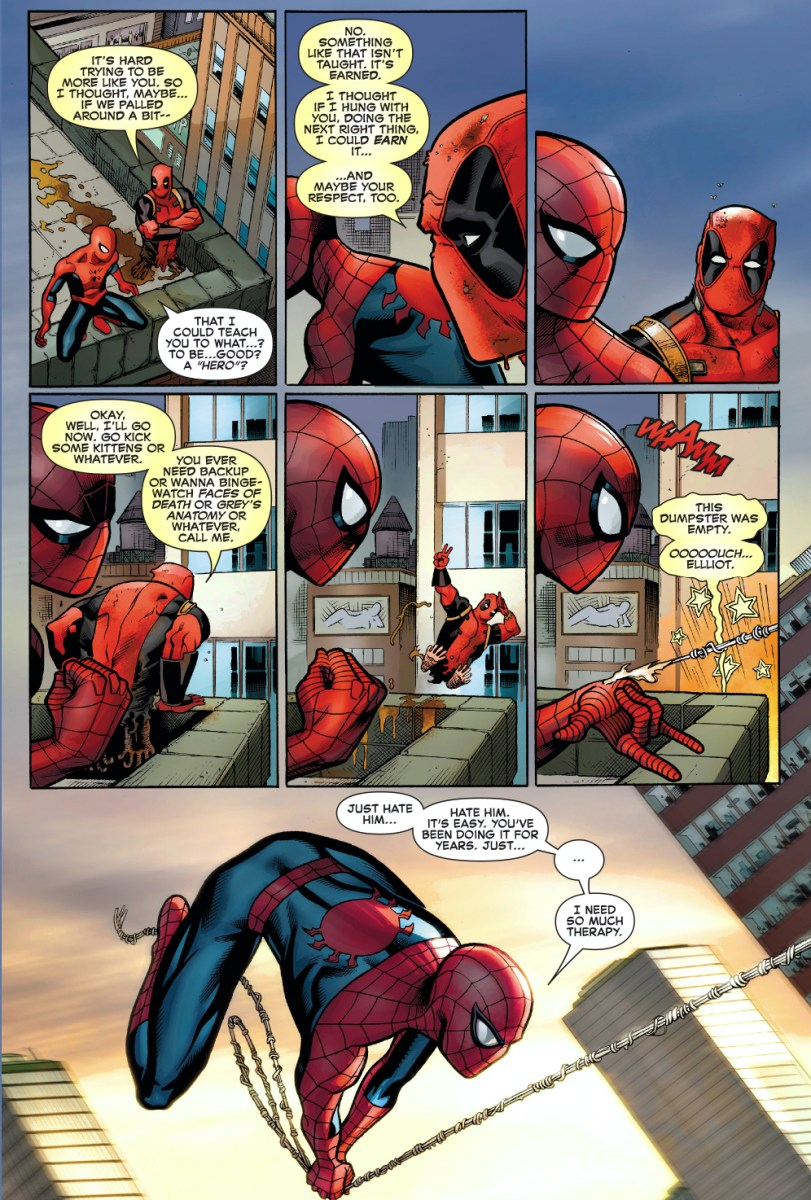 Why Deadpool Wants To Hang With Spider Man Comicnewbies