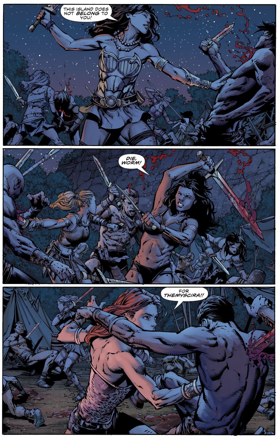 Donna Troy Massacres The Sons Of Themyscira Comicnewbies