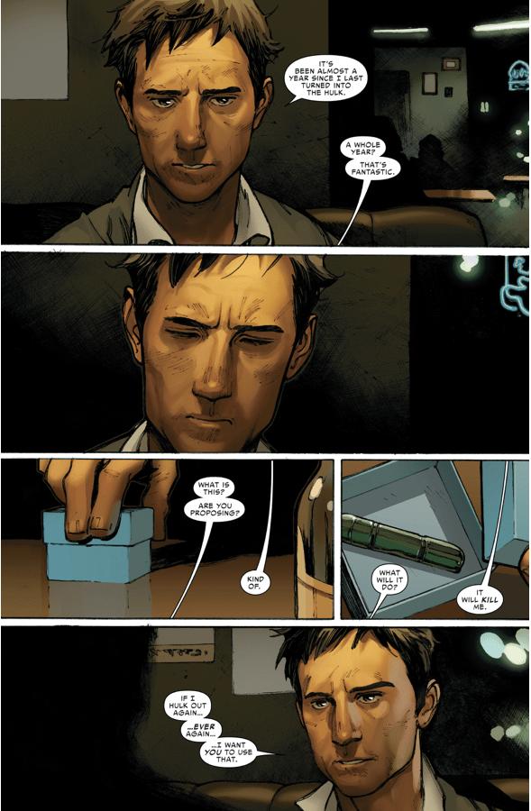 Why Hawkeye Killed Bruce Banner Civil War II Comicnewbies