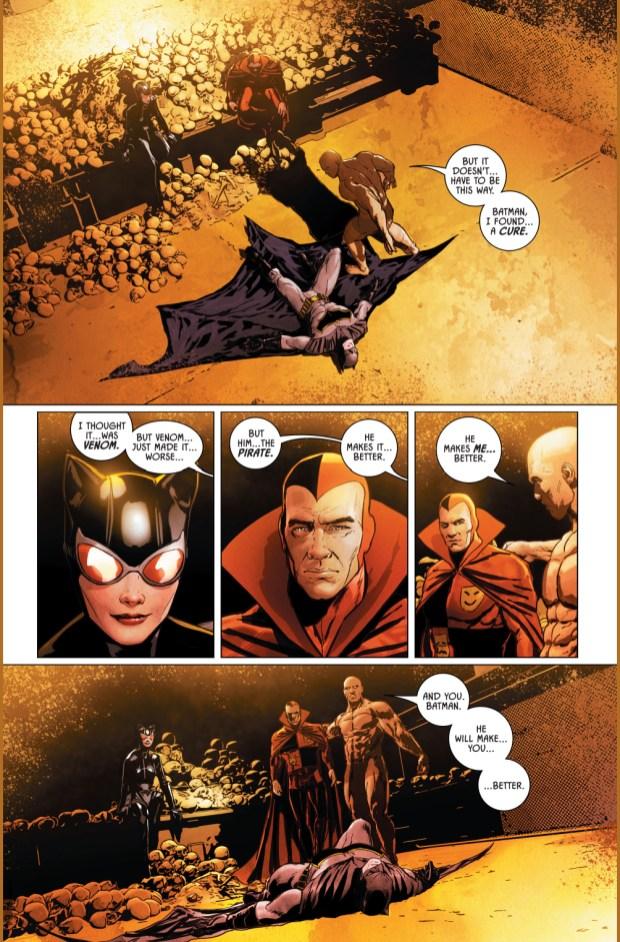 Catwoman Breaks Banes Back Rebirth Comicnewbies