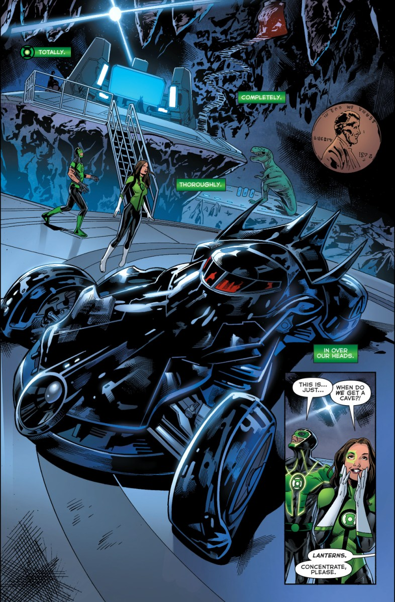 Simon Baz And Jessica Cruz In The Batcave Comicnewbies