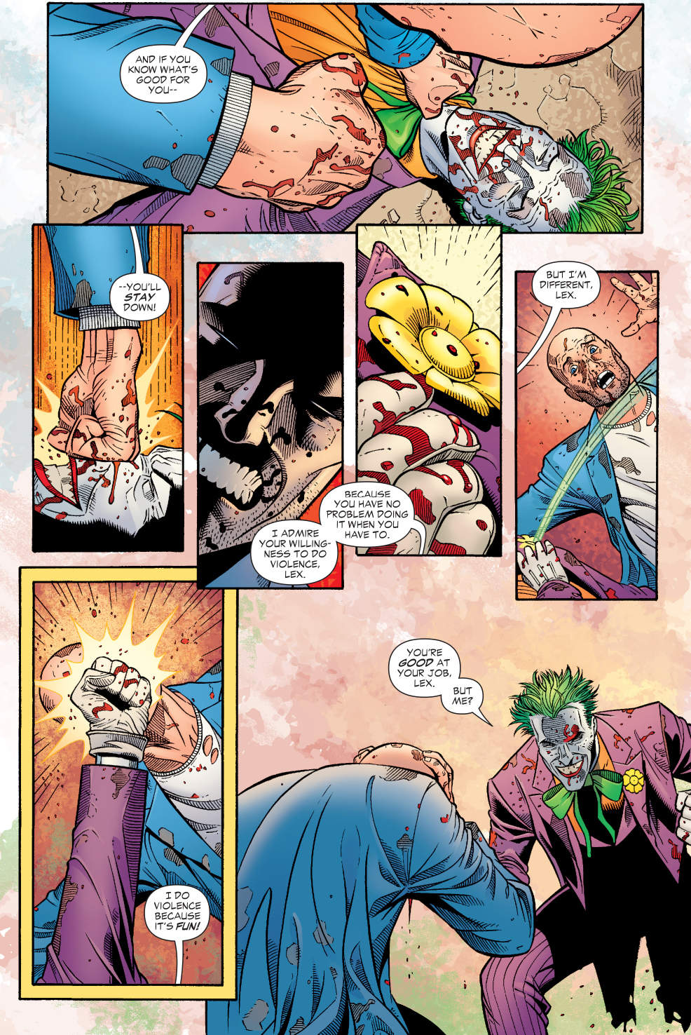 The Joker VS Lex Luthor Salvation Run Comicnewbies