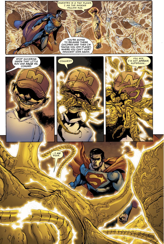 Parallax Possesses Superman Rebirth Comicnewbies