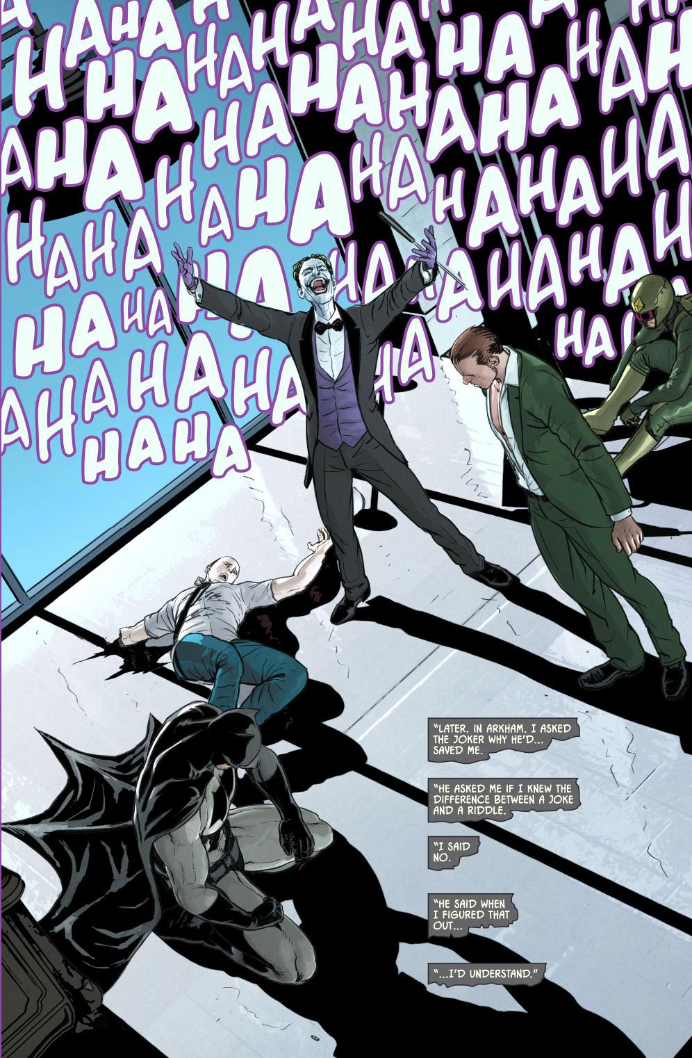 Batman Breaks His No Killing Rule Comicnewbies