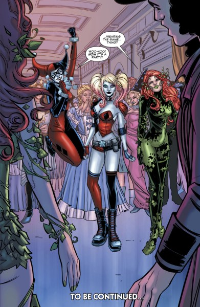 Betty And Veronica Dress Up As Harley Quinn And Poison Ivy         Betty And Veronica Dress Up As Harley Quinn And Poison Ivy