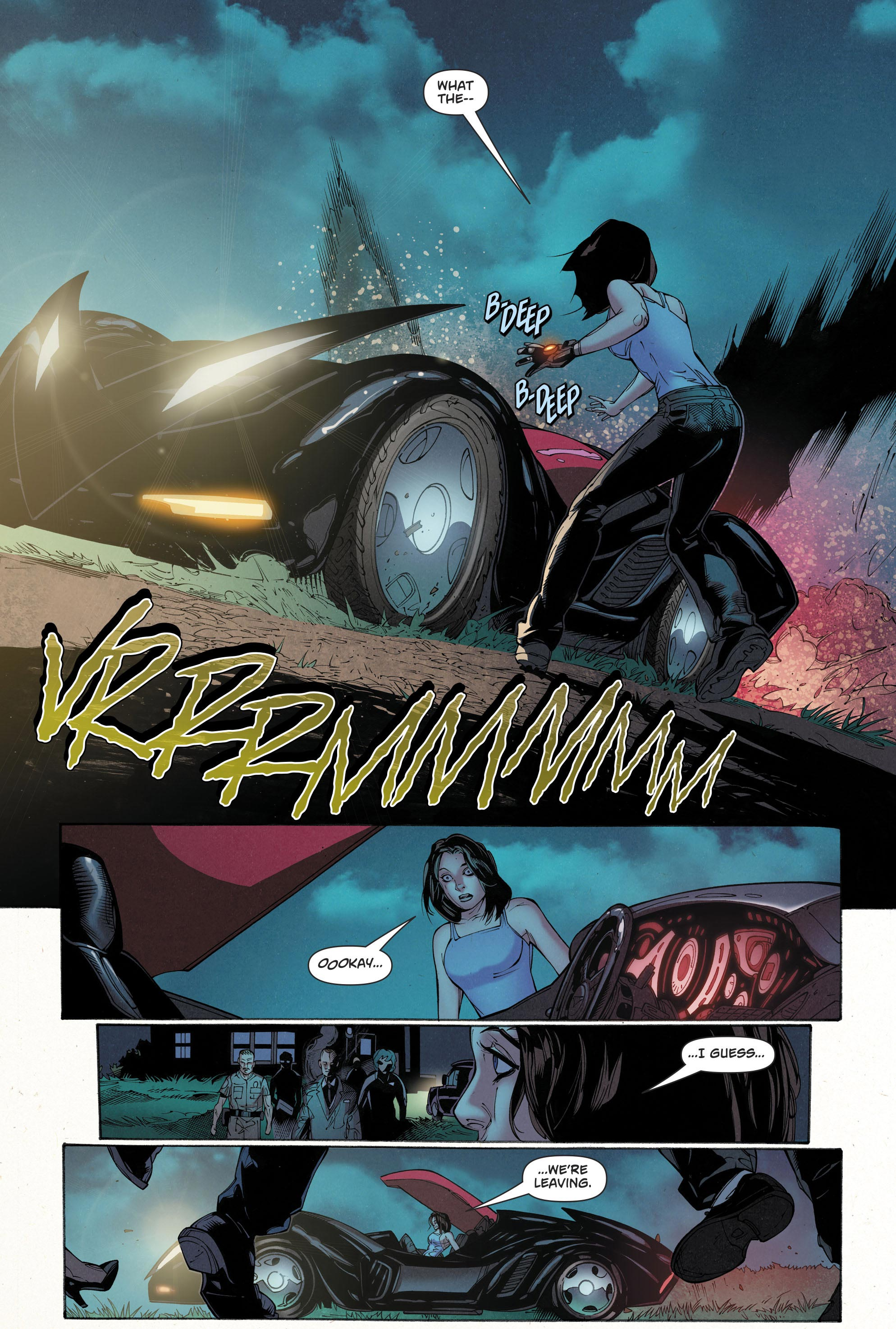 Lois Lane Drives The Batmobile Rebirth Comicnewbies