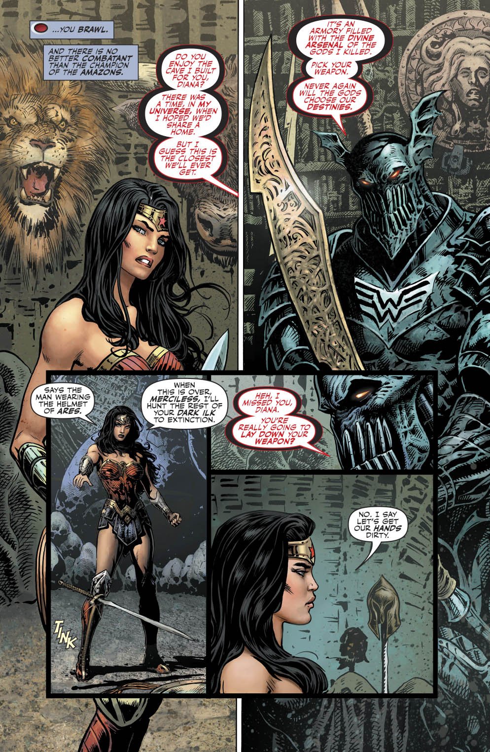 The Merciless VS Wonder Woman Comicnewbies
