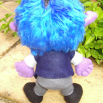 Yoru / Demon Plushie - Rear view