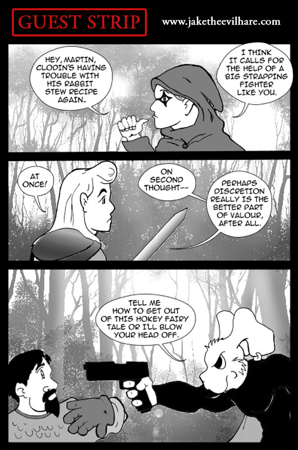 GUEST STRIP: Featuring Jake The Evil Hare