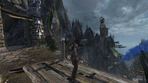 tomb raider 2013 beautiful scenery