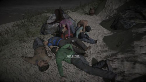 I don't know when I'll have occasion to say 'a pile of dead bodies in Gael