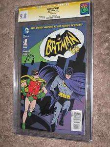 Stan Lee signed copy of Batman '66
