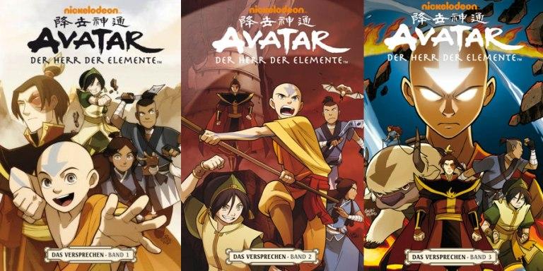 CRFF0025 – Avatar: Der Herr der Elemente. Das Versprechen 1-3