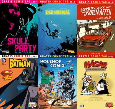 Der Gratis Comic Tag 2013 Teil 4 von 4