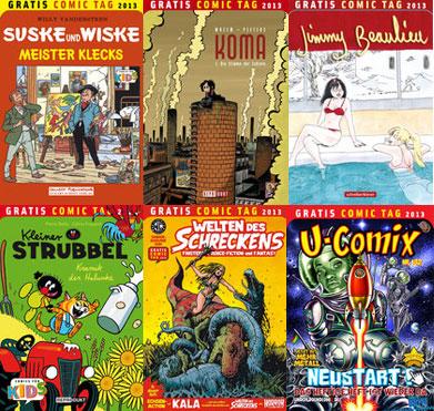 Der Gratis Comic Tag 2013 Teil 5