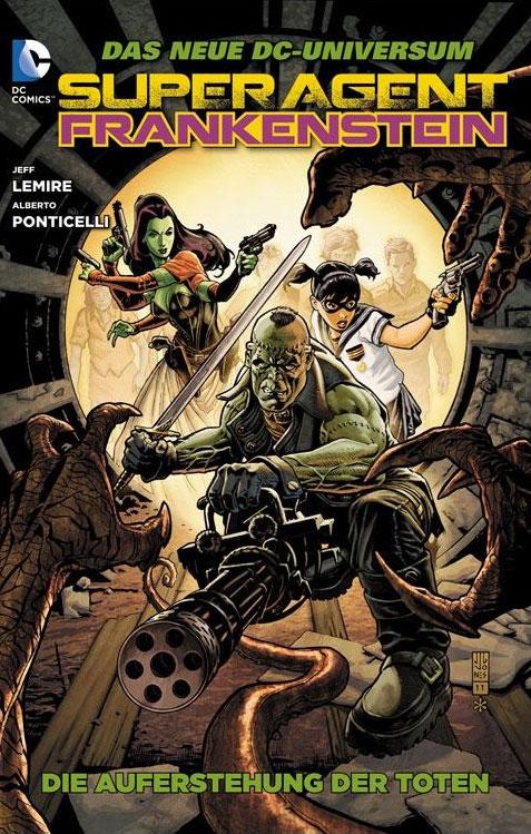 CRFF042 – Superagent Frankenstein, Die Auferstehung der Toten
