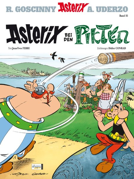 CRFF058 –  Asterix 35: Asterix bei den Pikten