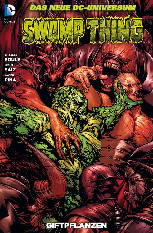 CRFF166 – Swamp Thing: Bd. 6: Giftpflanzen