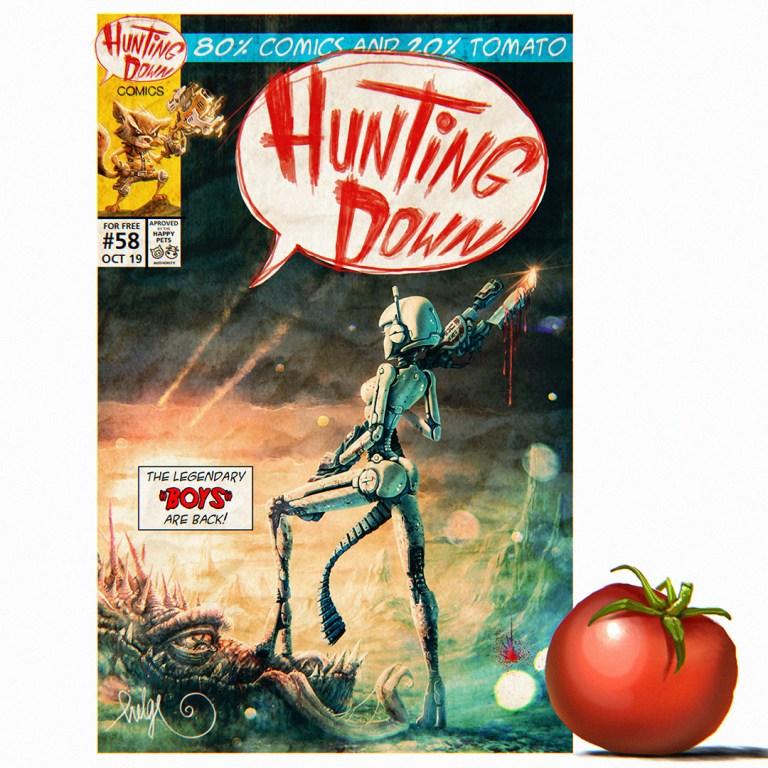 Hunting Down Comics #58