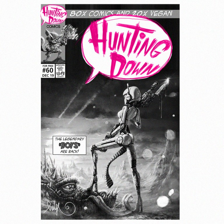 Hunting Down Comics #60
