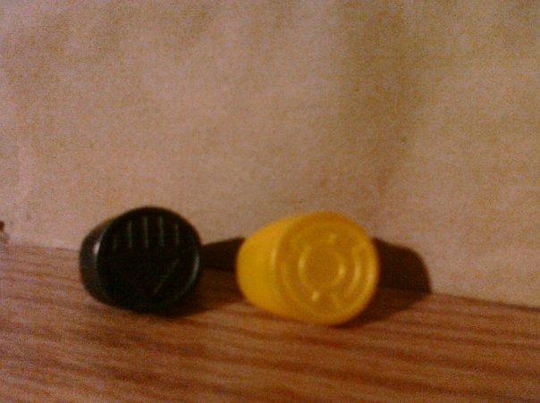 Lantern Corps: Black and Yellow