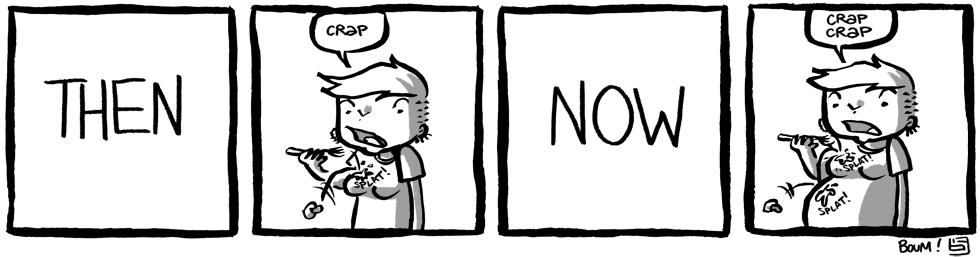 Boum pregnancy comic