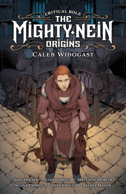 Comic book cover of Critical Role: The Mighty Nein Origins: Caleb Widogast