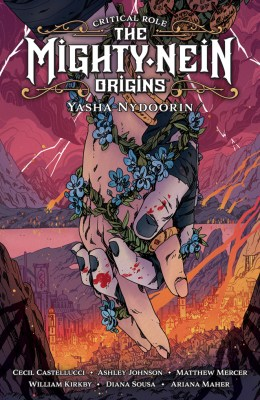 Comic book cover of Critical Role: The Mighty Nein Origins: Yasha Nydoorin