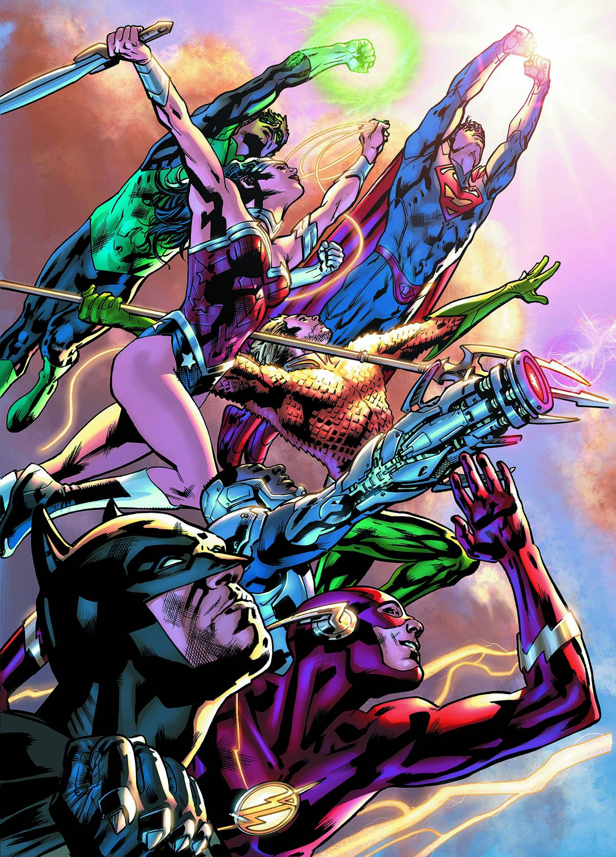 Justice League Of America #1 Cover