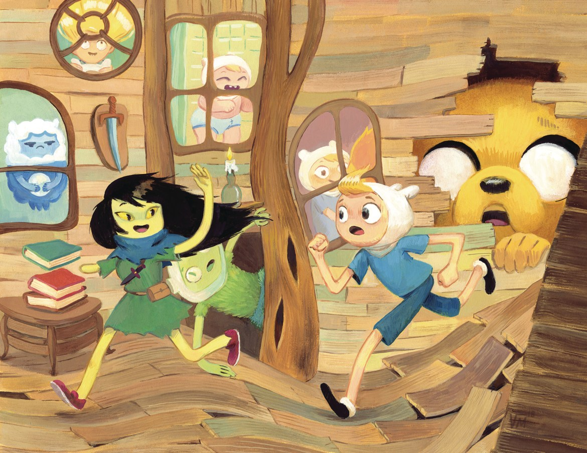 725500_6582a68eaf23d6907e83e4c73d4bf5b8958c9a3e ComicList Previews: ADVENTURE TIME BEGINNING OF THE END #2