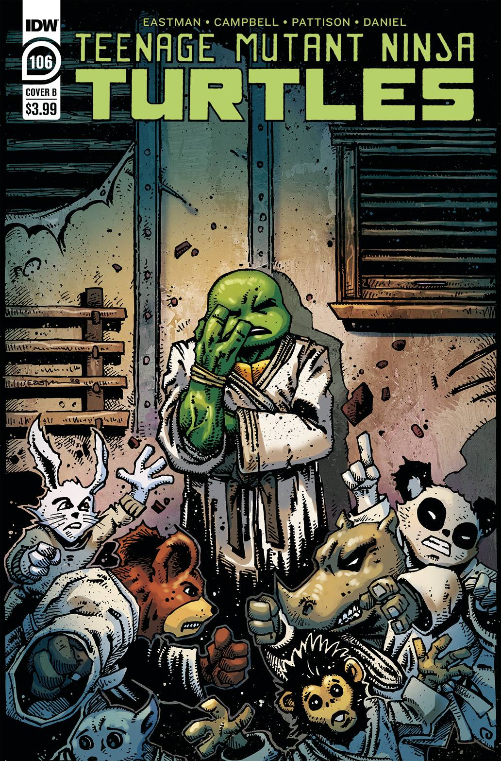 787834_tmnt-ongoing-106-cover-b-eastman ComicList: IDW Publishing New Releases for 07/15/2020