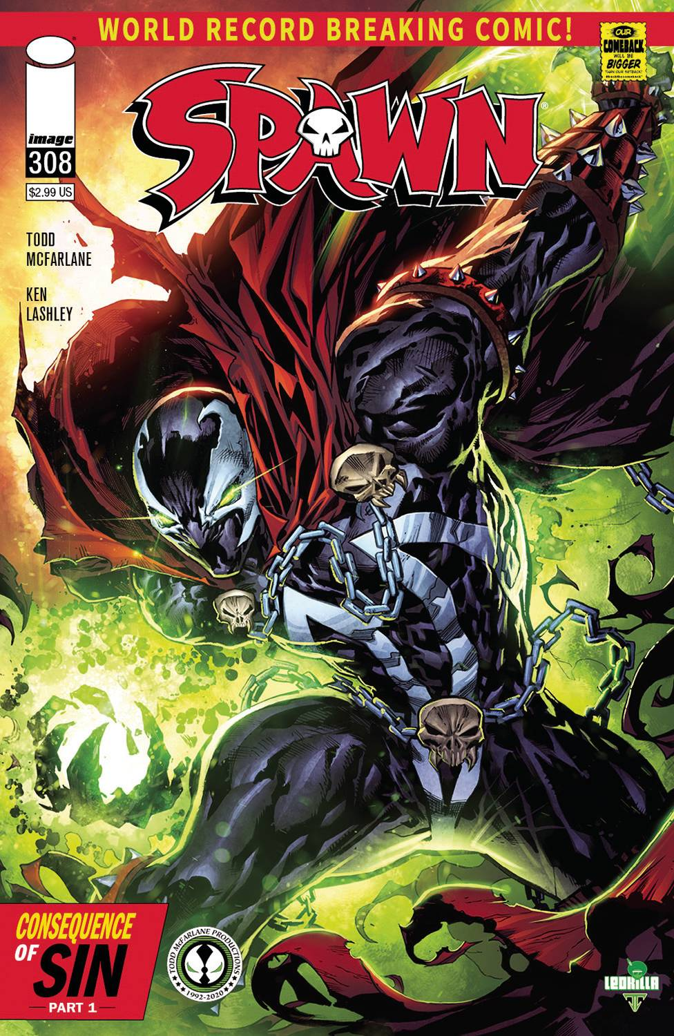 788466_spawn-308-cover-b-tan-mcfarlane ComicList: Image Comics New Releases for 07/29/2020