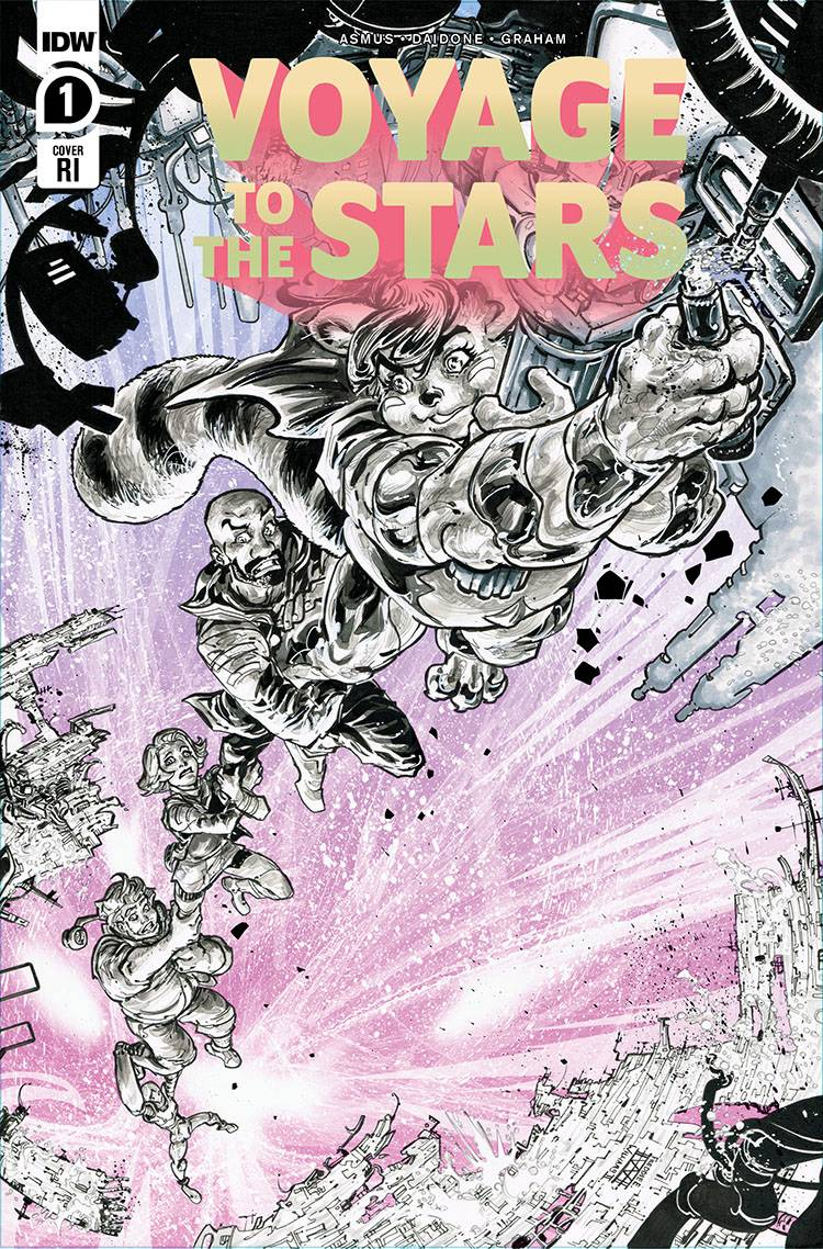 789604_voyage-to-the-stars-1-10-copy-cover-williams-ii ComicList: IDW Publishing New Releases for 08/19/2020