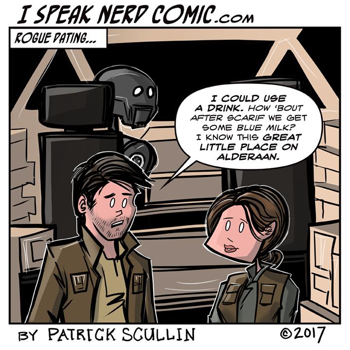 I Speak Nerd Comic Strip Rogue Date