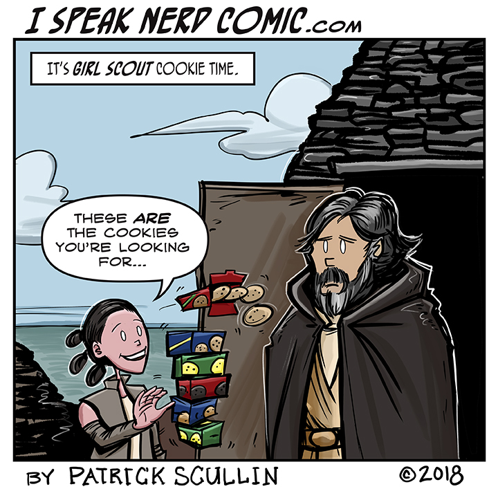 I Speak Nerd Comic Strip These Are the Cookies You're Looking For
