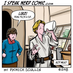 I Speak Nerd Comic Strip Got Milk Luke