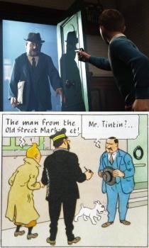 Tintin Movies and Comics