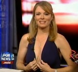 Patti Ann Browne, Fox News Pundit with Cleavage