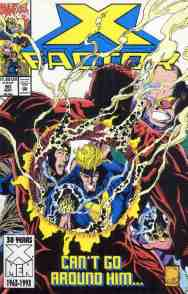 X-Factor comic book cover #90