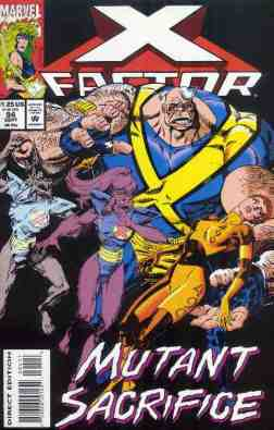 X-Factor comic book cover #94