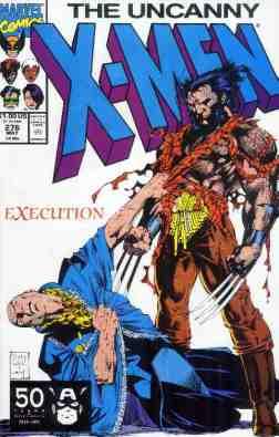 Uncanny X-Men comic book cover #276